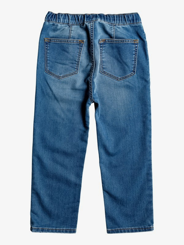 Caz Burlei - Elasticated Waist Denim Jeans for Boys 2-7  EQKDP03074