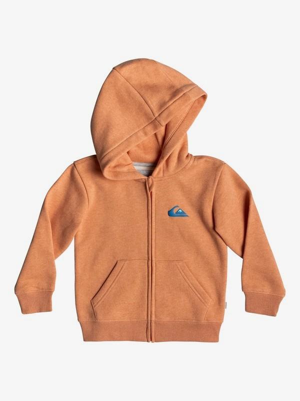0 Jam It - Zip-Up Hoodie for Boys 2-7 Orange EQKFT03278 Quiksilver