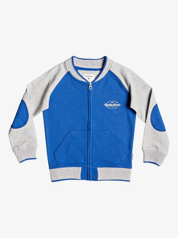 0 Power Slash - Bomber Sweatshirt for Boys 2-7 Grey EQKFT03281 Quiksilver