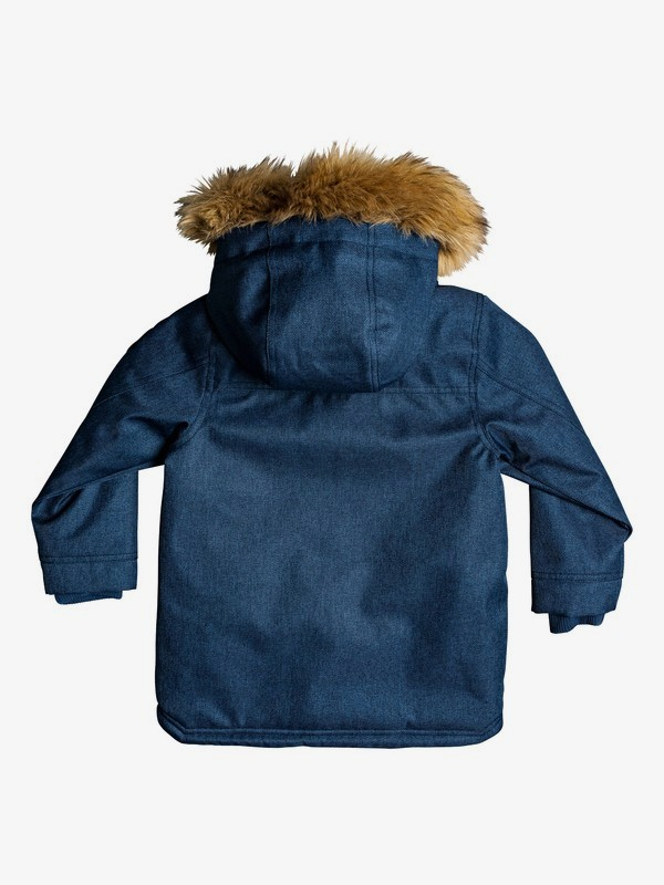 Bicheno Bloom - Hooded Parka for Boys 2-7  EQKJK03099