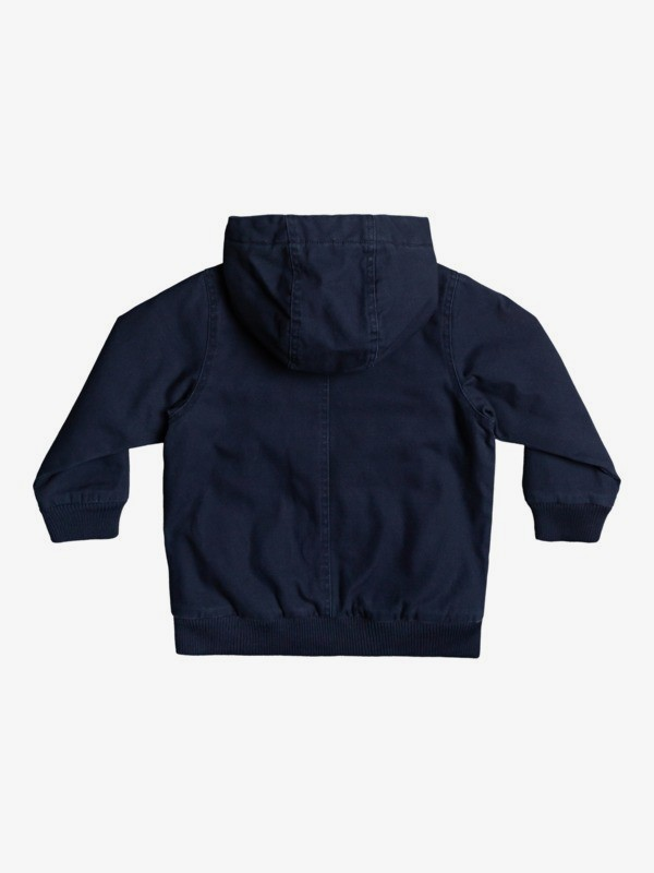 Just Cool - Hooded Canvas Jacket for Boys 2-7  EQKJK03109