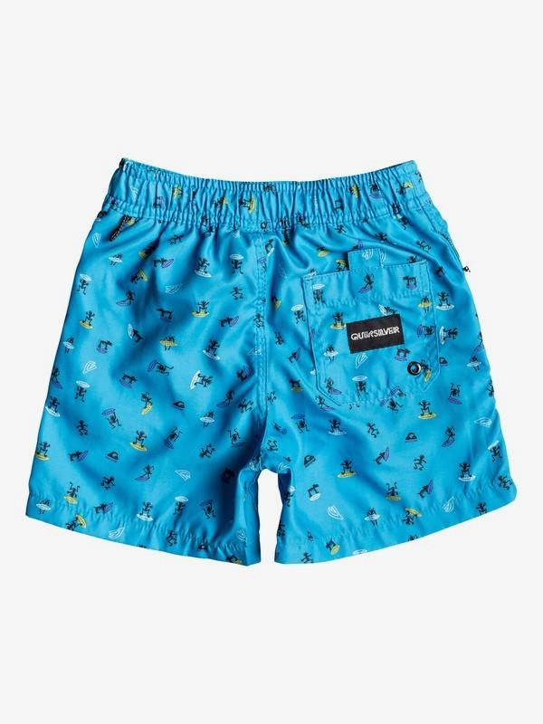 """Wardog 12"""" - Swim Shorts for Boys 2-7  EQKJV03070"""