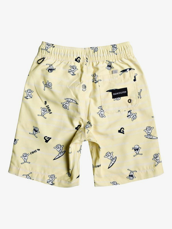 "Mr Shaka 14"" - Swim Shorts for Boys 2-7 EQKJV03085"