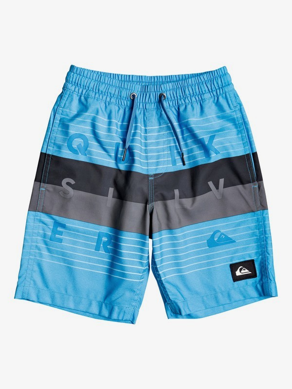 "Word Block 14"" - Swim Shorts for Boys 2-7  EQKJV03107"