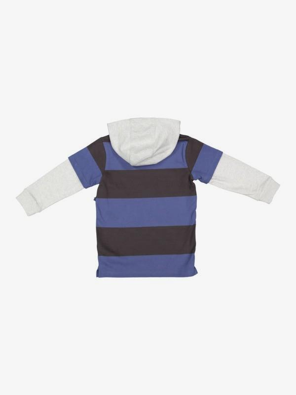 Bayside Club - Hooded Long Sleeve T-Shirt for Boys 2-7  EQKKT03209