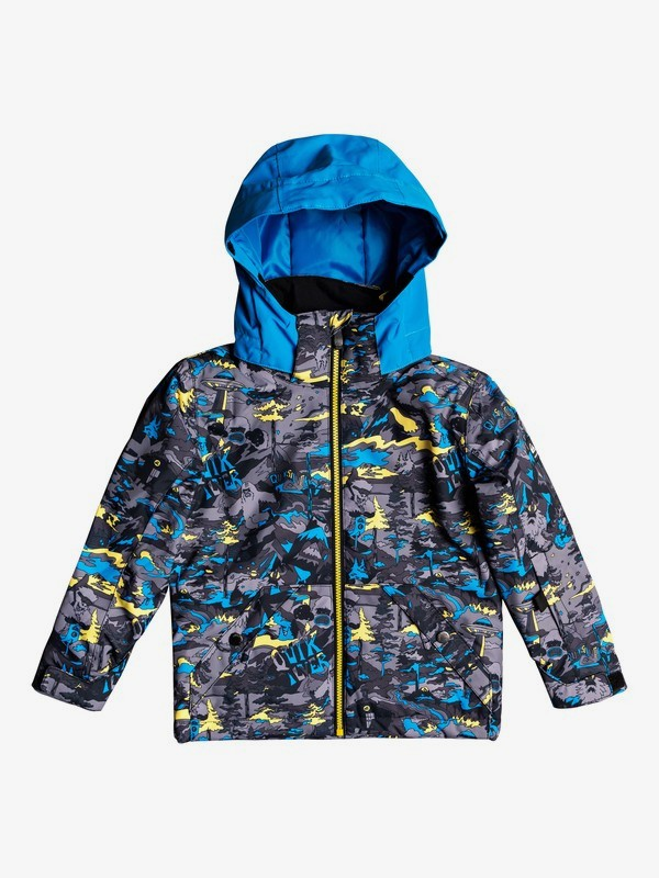 0 Little Mission - Snow Jacket for Boys 2-7 Green EQKTJ03010 Quiksilver