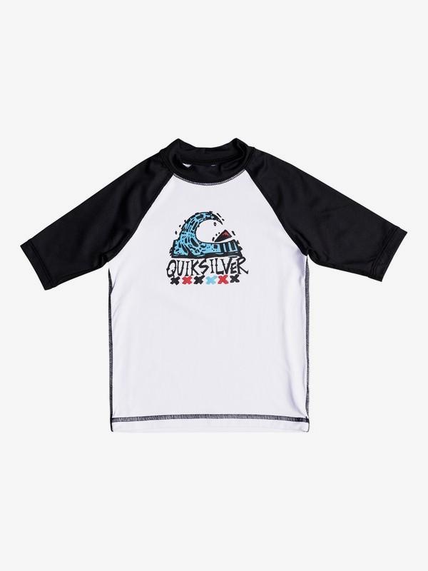 Bubble Dream - Short Sleeve UPF 50 Rash Vest for Boys 2-7  EQKWR03024