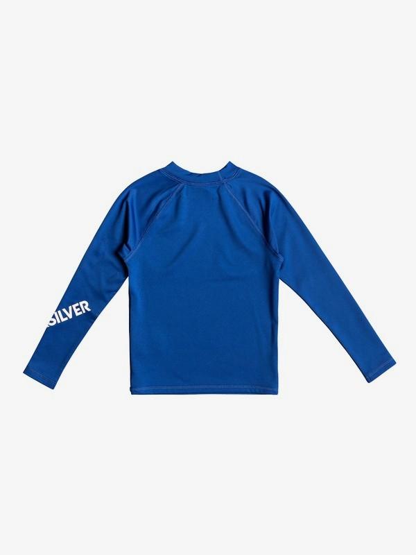 All Time - Long Sleeve UPF 50 Rash Vest for Boys 2-7  EQKWR03050