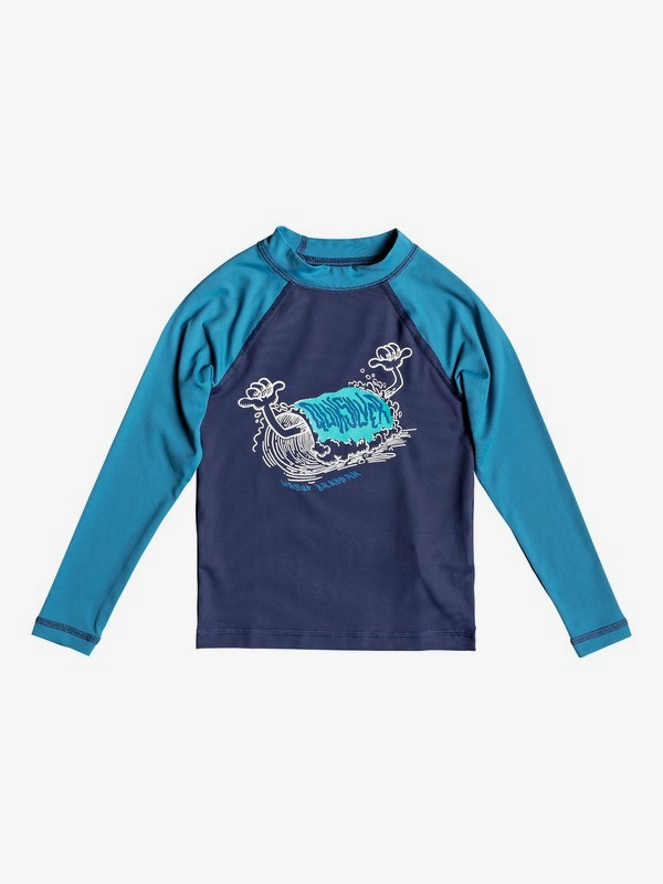 Bubble Dreams - Long Sleeve UPF 50 Rash Vest for Boys 2-7  EQKWR03059