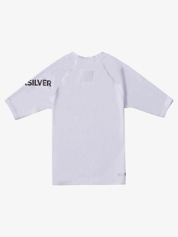 All Time - Short Sleeve UPF 50 Rash Vest for Boys 2-7  EQKWR03077