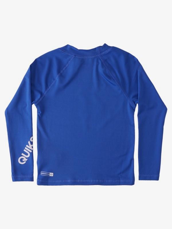 All Time - Long Sleeve UPF 50 Rash Vest for Boys 2-7  EQKWR03082