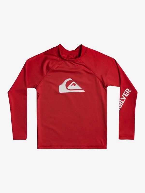 All Time - Long Sleeve UPF 50 Rash Vest  EQKWR03082