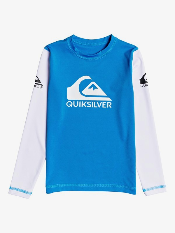 Heats On - Long Sleeve UPF 50 Rash Vest for Boys 2-7  EQKWR03084