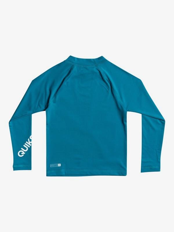All Time - Long Sleeve UPF 50 Rash Vest for Boys 2-7  EQKWR03089