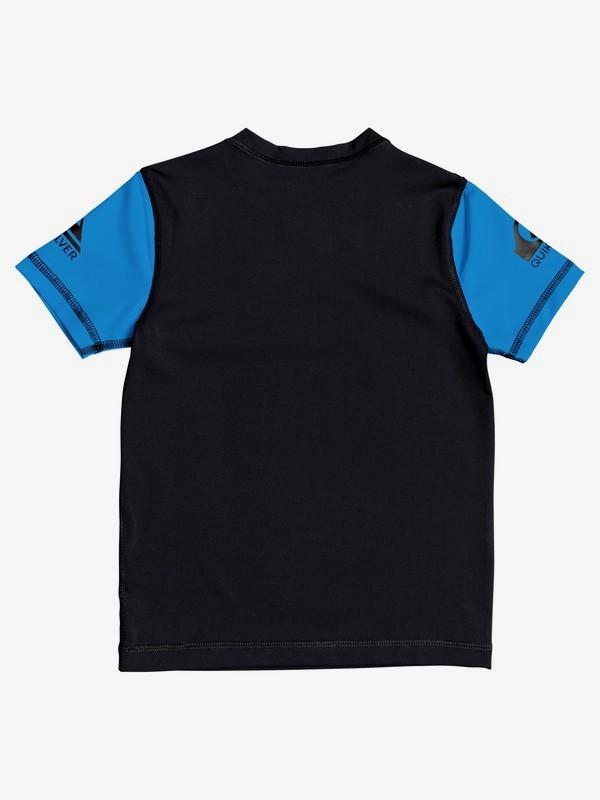 Heats On - Short Sleeve UPF 50 Rash Vest for Boys 2-7  EQKWR03090