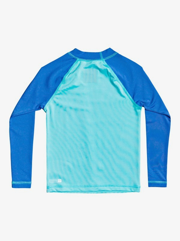 Tropical Bubble Boy - Long Sleeve UPF 50 Rash Vest for Boys 2-7  EQKWR03096