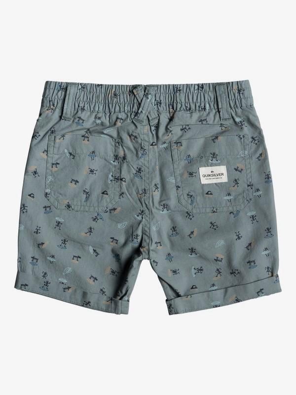 Aop - Slim Fit Shorts for Boys 2-7  EQKWS03165