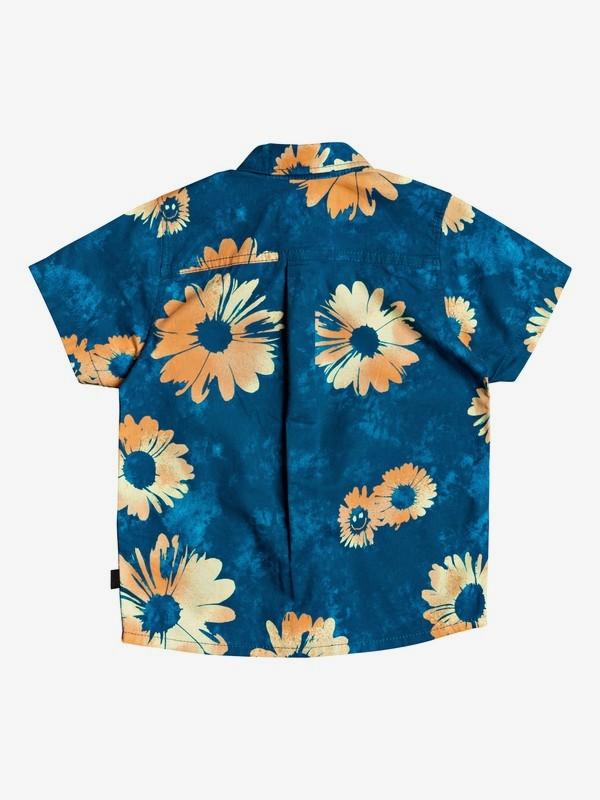 Daisy Spray - Short Sleeve Shirt for Boys 2-7  EQKWT03181