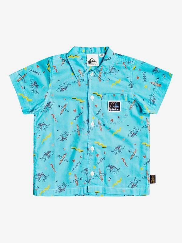 Flip Snacking - Short Sleeve Shirt for Boys 2-7  EQKWT03190