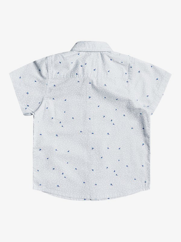 Spilled Rice - Short Sleeve Flannel Shirt for Boys 2-7  EQKWT03191