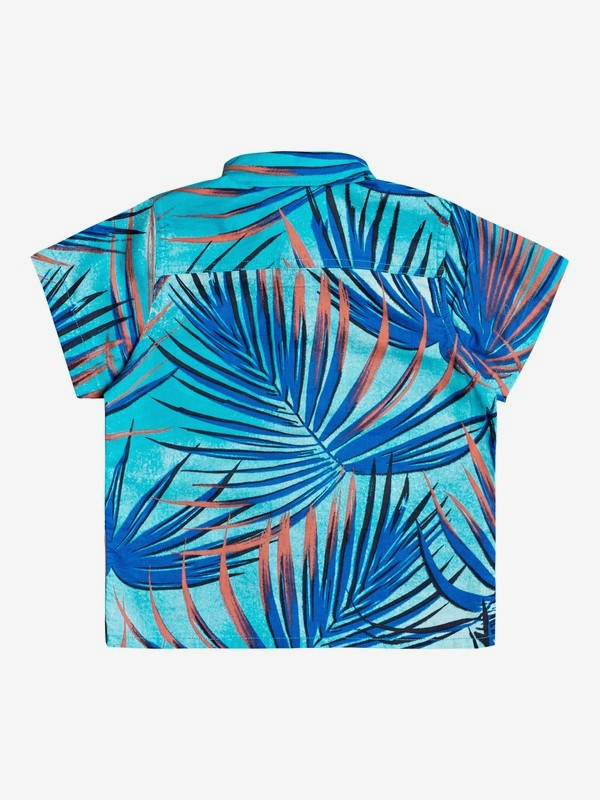 Sub Tropic - Short Sleeve Shirt for Boys 2-7  EQKWT03192