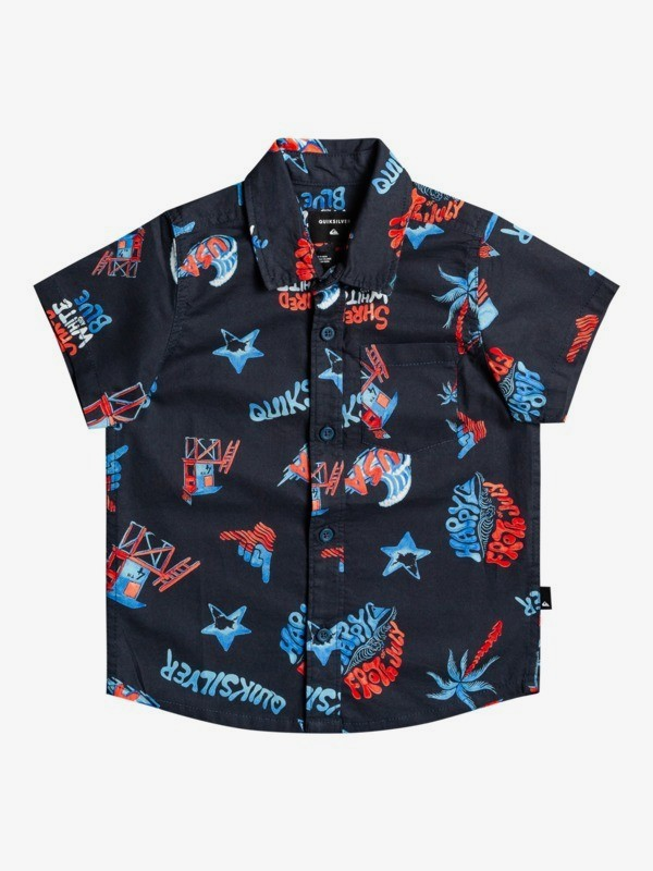 4th Of July - Short Sleeve Shirt for Boys 2-7  EQKWT03203