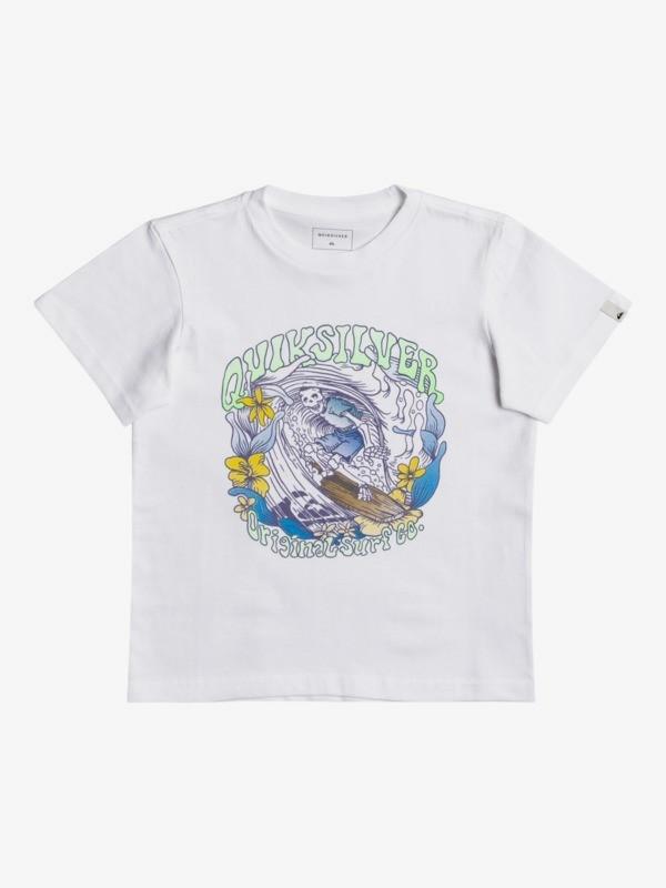 Wavey Skull - T-Shirt for Boys 2-7  EQKZT03458