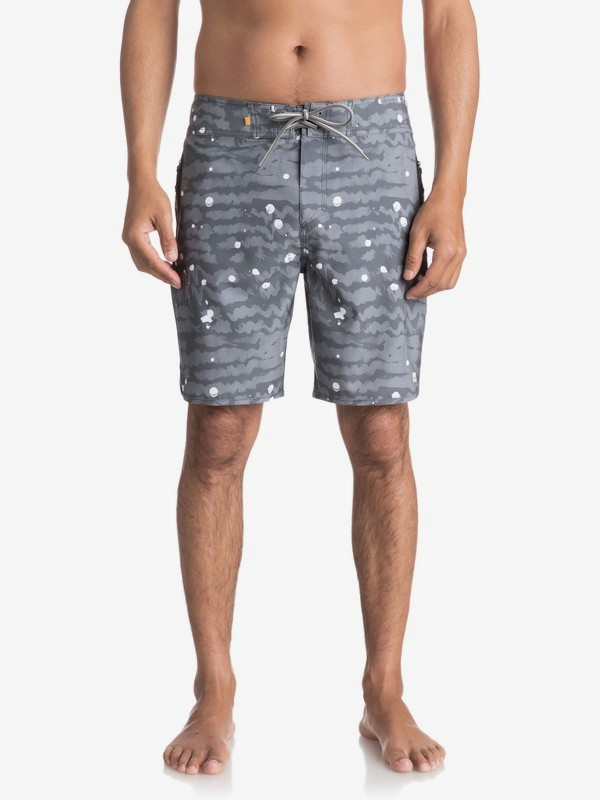 "0 Waterman Deep Sea 19"" - Board Shorts para Hombre Negro EQMBS03017 Quiksilver"