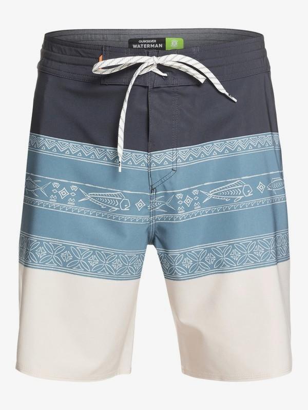 "Waterman Liberty Triblock 19"" - Board Shorts for Men  EQMBS03063"