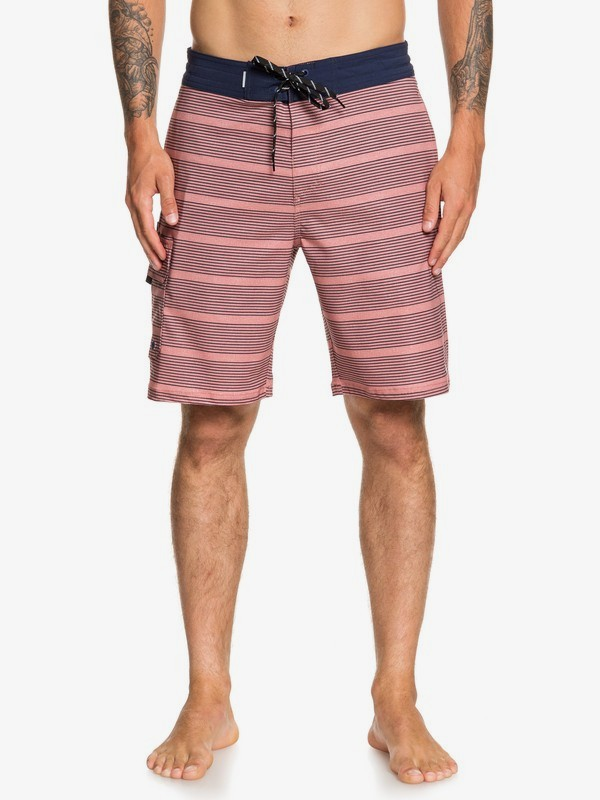 "Waterman Angler Stripe 20"" - Beachshorts for Men  EQMBS03068"