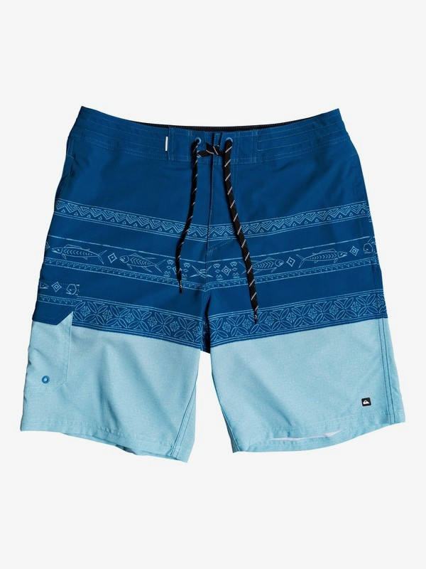 "Waterman Angler Triblock 20"" - Beachshorts for Men  EQMBS03070"