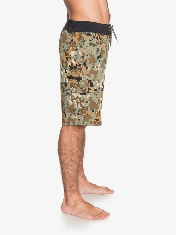 """Angler Camo 20"""" - Beachshorts for Men  EQMBS03077"""