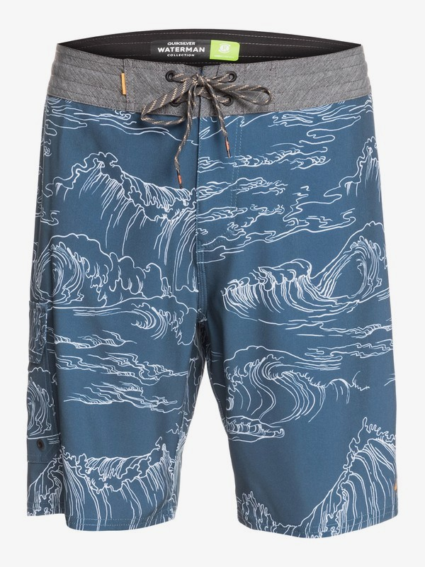 "Angler Print 20"" - Beachshorts for Men  EQMBS03079"