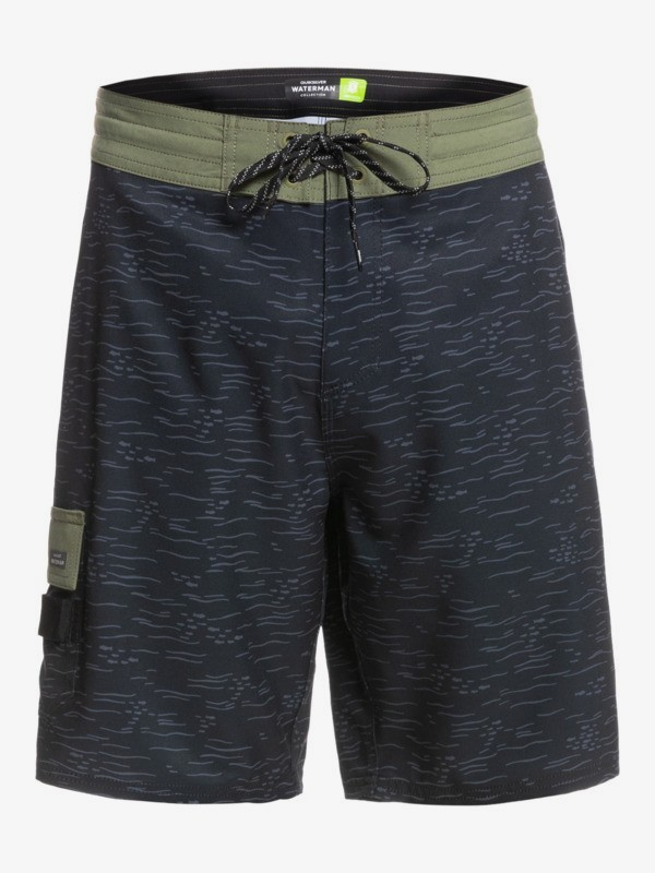 "Waterman Angler Print 20"" - Recycled Beachshorts for Men  EQMBS03084"