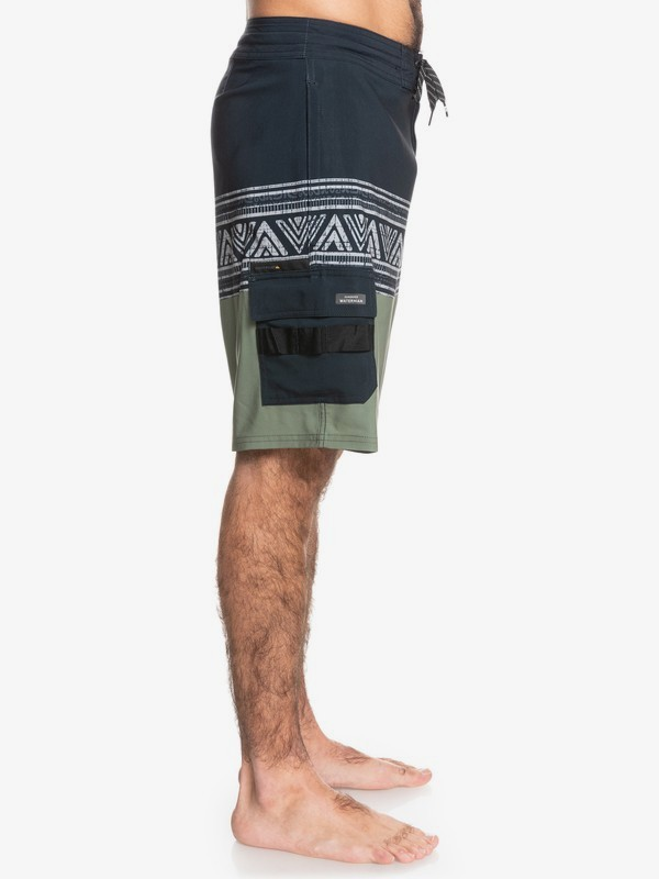 "Waterman Angler Stripe 20"" - Beachshorts for Men  EQMBS03085"
