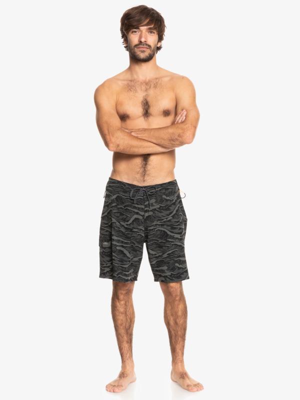 "Waterman Paddler Print 19"" - Board Shorts for Men  EQMBS03087"
