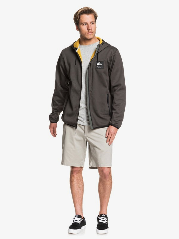 Waterman Starrunner - Zip-Up Mesh Hoodie for Men  EQMFT03040
