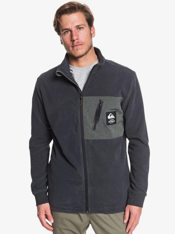0 Waterman Portview - Fleece mit Stehkragen und Reißverschluss für Männer Schwarz EQMFT03043 Quiksilver