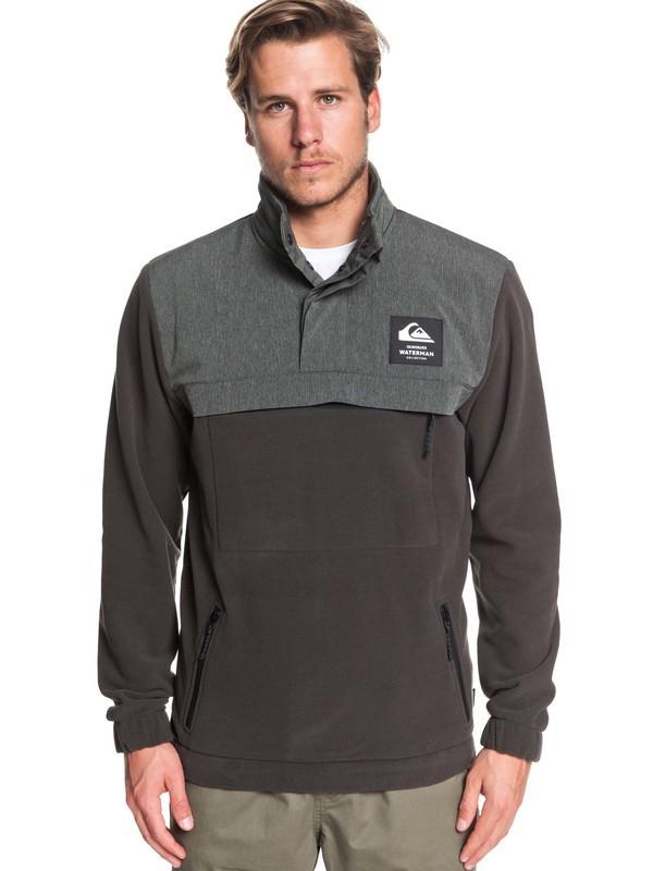 Waterman Keeldown - Half-Zip Mock Neck Fleece for Men  EQMFT03044