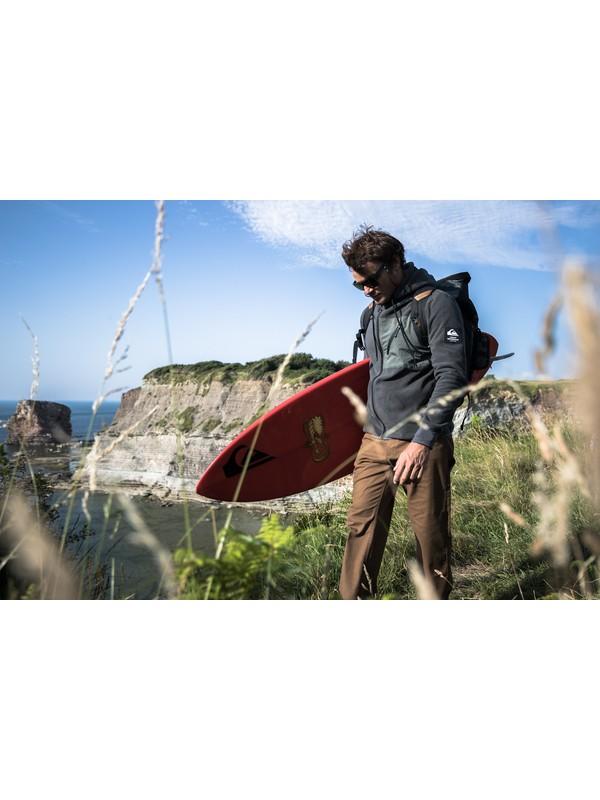Waterman Deep Chanel - Polar Fleece Zip-Up Hoodie for Men EQMFT03052