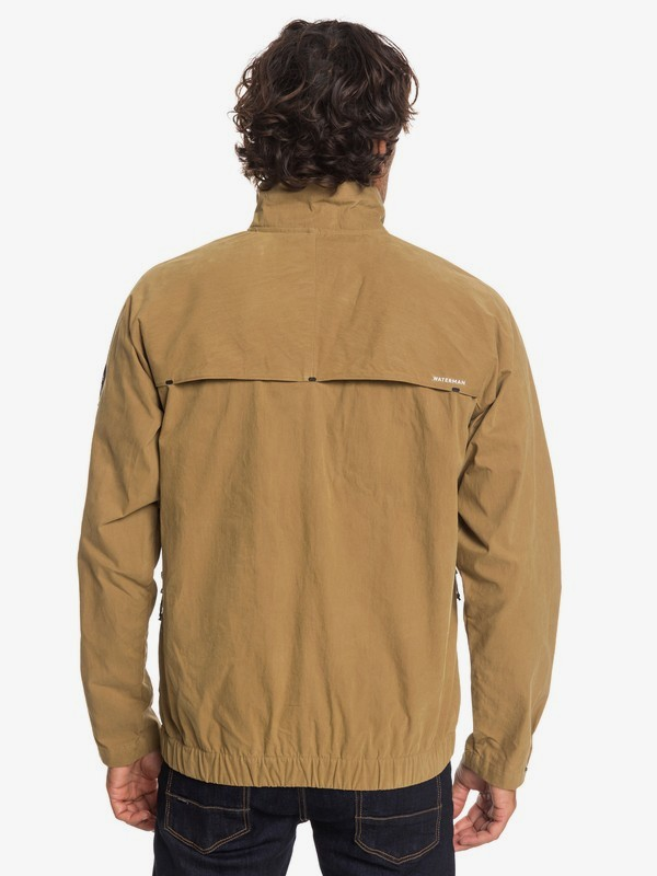 Waterman Good Weather - Waxed Windbreaker Jacket for Men  EQMJK03021