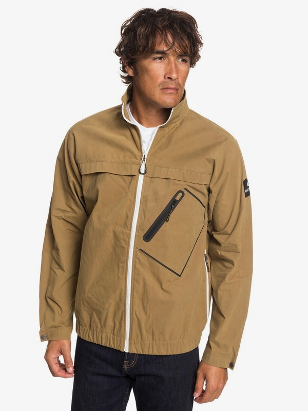 0 Waterman Good Weather - Chaqueta Corta-Viento Encerada para Hombre Marron EQMJK03021 Quiksilver