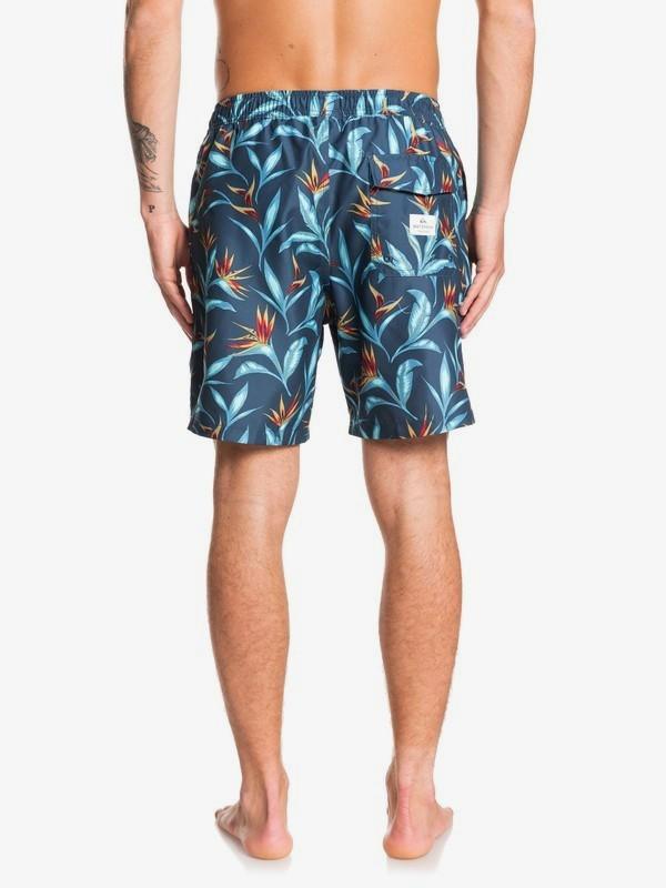 "Waterman Maze Day 18"" - Swim Shorts for Men  EQMJV03055"