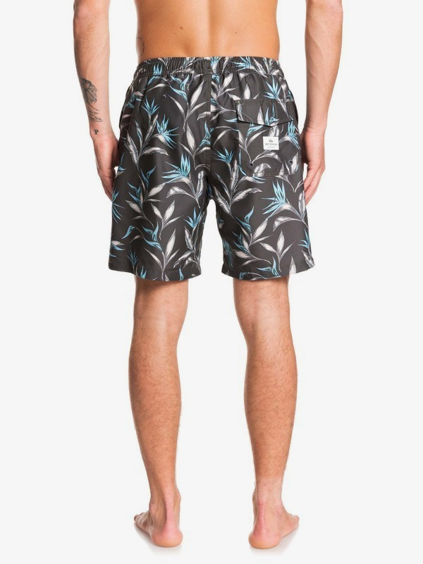 "Waterman Maze Day 18"" - Swim Shorts for Men  EQMJV03055"