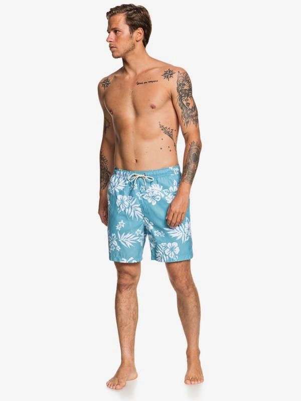 """Waterman Floral Feelings 18"""" - Swim Shorts  EQMJV03059"""