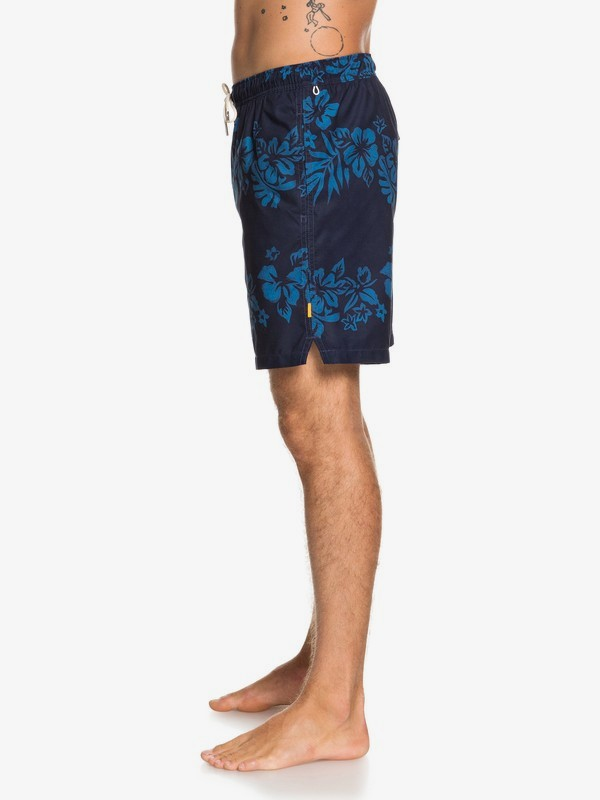 "Waterman Floral Feelings 18"" - Swim Shorts  EQMJV03059"