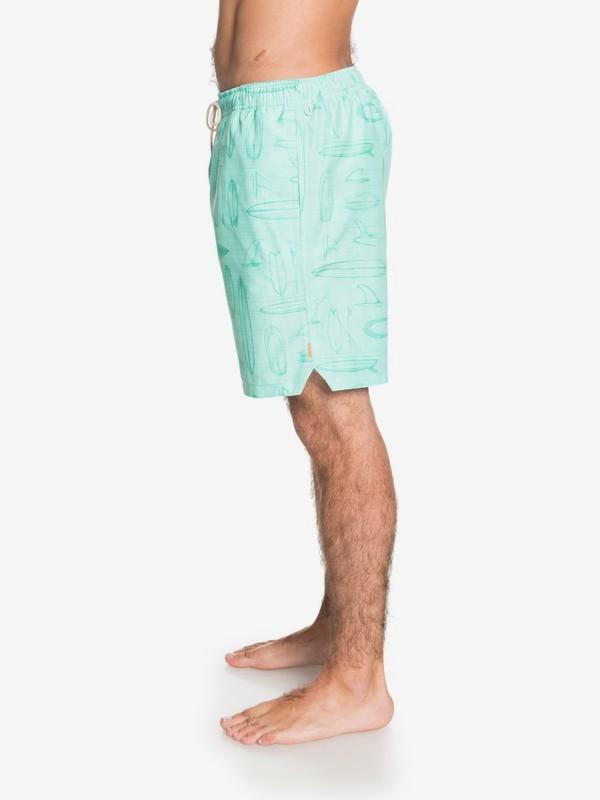 "Boardstory 18"" - Swim Shorts for Men  EQMJV03064"