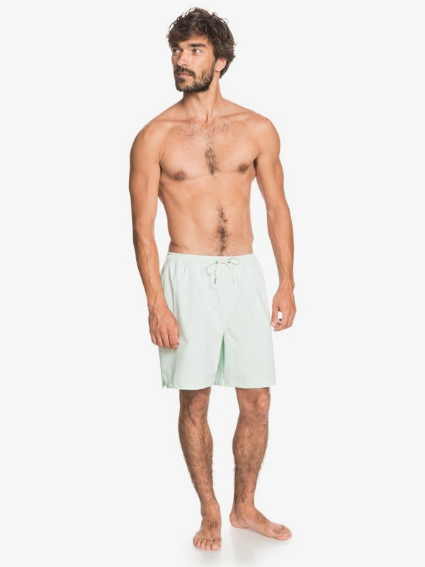 "The Deck 18"" - Swim Shorts for Men  EQMJV03067"