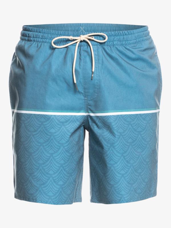 "Waterman The Deck Stripe 18"" - Recycled Swim Shorts for Men  EQMJV03071"