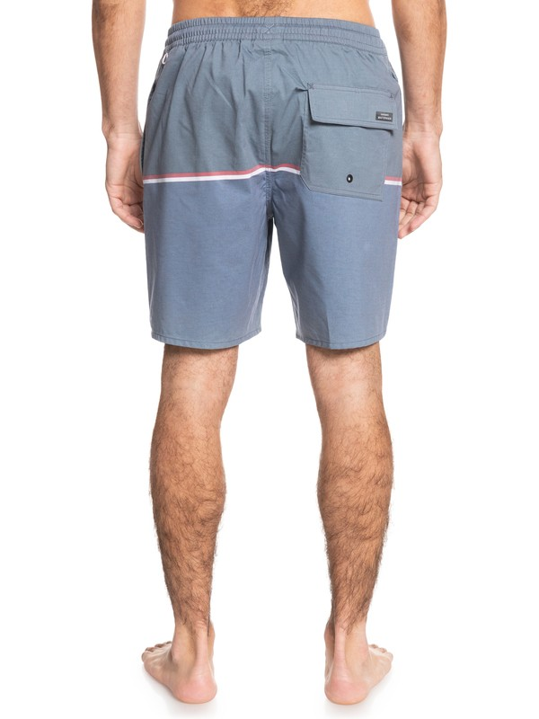 "Waterman The Deck Stripe 18"" - Recycled Swim Shorts for Men  EQMJV03071"